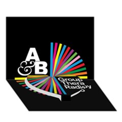 Above & Beyond  Group Therapy Radio Heart Bottom 3D Greeting Card (7x5)