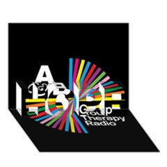 Above & Beyond  Group Therapy Radio HOPE 3D Greeting Card (7x5)