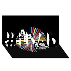 Above & Beyond  Group Therapy Radio #1 DAD 3D Greeting Card (8x4)