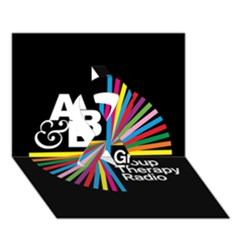 Above & Beyond  Group Therapy Radio Ribbon 3D Greeting Card (7x5)