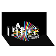 Above & Beyond  Group Therapy Radio HUGS 3D Greeting Card (8x4)