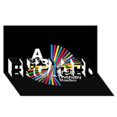 Above & Beyond  Group Therapy Radio ENGAGED 3D Greeting Card (8x4)