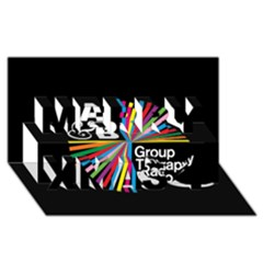 Above & Beyond  Group Therapy Radio Merry Xmas 3D Greeting Card (8x4)