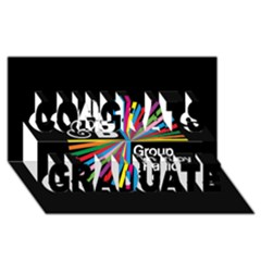 Above & Beyond  Group Therapy Radio Congrats Graduate 3D Greeting Card (8x4)