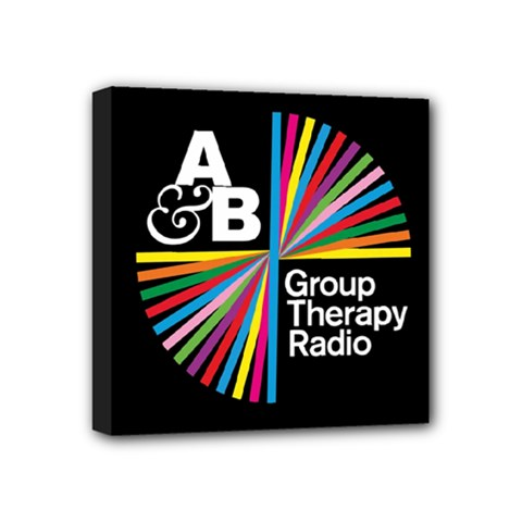 Above & Beyond  Group Therapy Radio Mini Canvas 4  x 4
