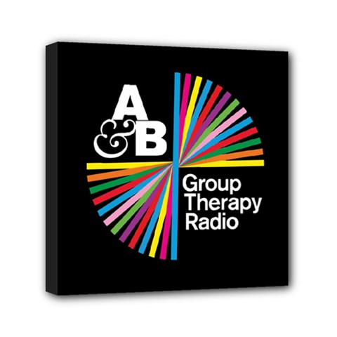 Above & Beyond  Group Therapy Radio Mini Canvas 6  x 6