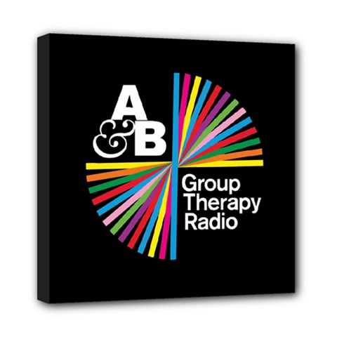 Above & Beyond  Group Therapy Radio Mini Canvas 8  x 8