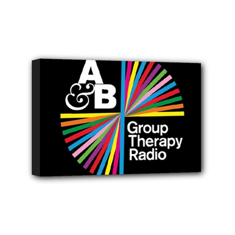 Above & Beyond  Group Therapy Radio Mini Canvas 6  x 4