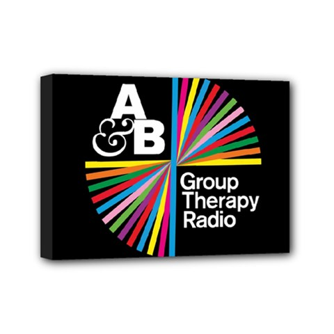 Above & Beyond  Group Therapy Radio Mini Canvas 7  x 5