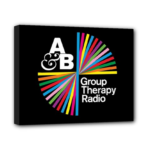 Above & Beyond  Group Therapy Radio Canvas 10  x 8