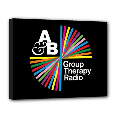 Above & Beyond  Group Therapy Radio Canvas 14  x 11