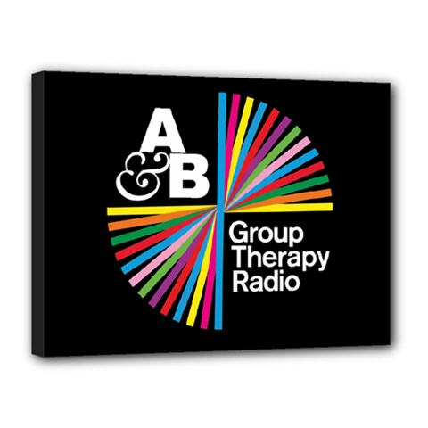 Above & Beyond  Group Therapy Radio Canvas 16  x 12