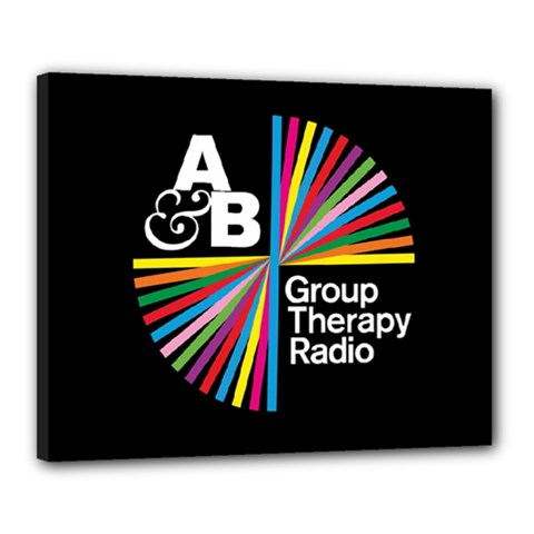 Above & Beyond  Group Therapy Radio Canvas 20  x 16