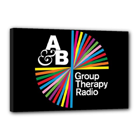 Above & Beyond  Group Therapy Radio Canvas 18  x 12