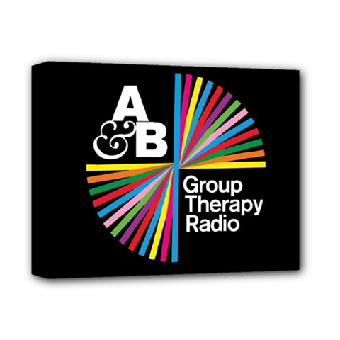Above & Beyond  Group Therapy Radio Deluxe Canvas 14  x 11