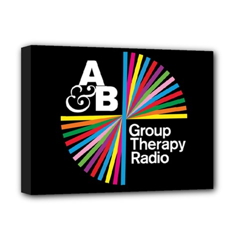 Above & Beyond  Group Therapy Radio Deluxe Canvas 16  x 12