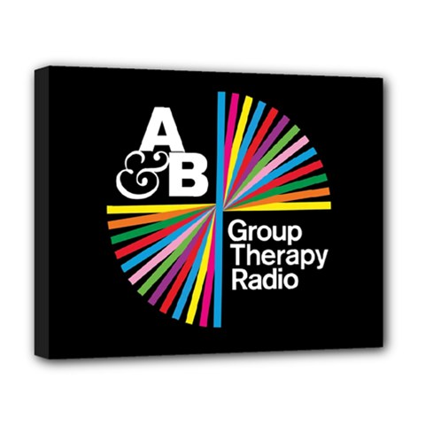 Above & Beyond  Group Therapy Radio Deluxe Canvas 20  x 16
