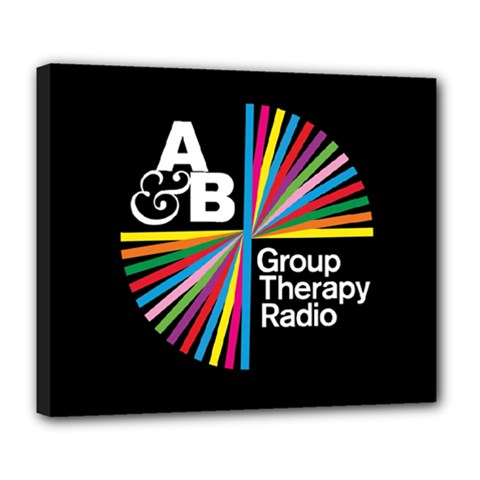 Above & Beyond  Group Therapy Radio Deluxe Canvas 24  x 20