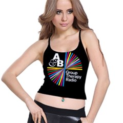 Above & Beyond  Group Therapy Radio Spaghetti Strap Bra Top