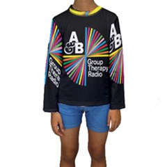 Above & Beyond  Group Therapy Radio Kids  Long Sleeve Swimwear