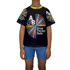 Above & Beyond  Group Therapy Radio Kids  Short Sleeve Swimwear