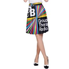 Above & Beyond  Group Therapy Radio A-Line Skirt