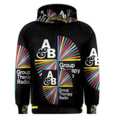 Above & Beyond  Group Therapy Radio Men s Zipper Hoodie