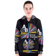 Above & Beyond  Group Therapy Radio Women s Zipper Hoodie