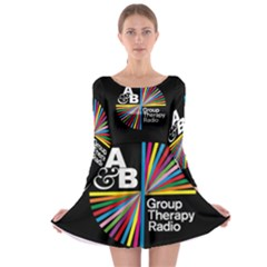 Above & Beyond  Group Therapy Radio Long Sleeve Skater Dress
