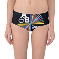 Above & Beyond  Group Therapy Radio Mid-Waist Bikini Bottoms