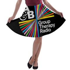 Above & Beyond  Group Therapy Radio A-line Skater Skirt