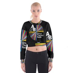 Above & Beyond  Group Therapy Radio Women s Cropped Sweatshirt