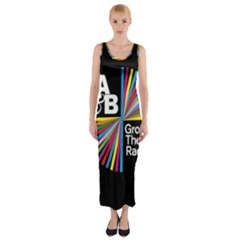 Above & Beyond  Group Therapy Radio Fitted Maxi Dress