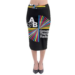 Above & Beyond  Group Therapy Radio Midi Pencil Skirt