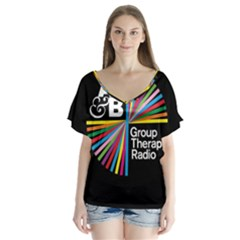 Above & Beyond  Group Therapy Radio Flutter Sleeve Top