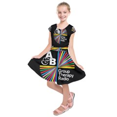 Above & Beyond  Group Therapy Radio Kids  Short Sleeve Dress