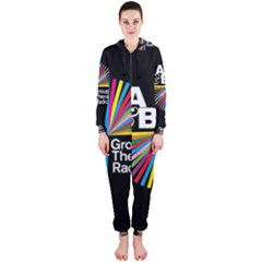 Above & Beyond  Group Therapy Radio Hooded Jumpsuit (Ladies)