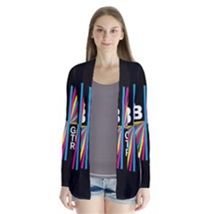 Above & Beyond  Group Therapy Radio Drape Collar Cardigan