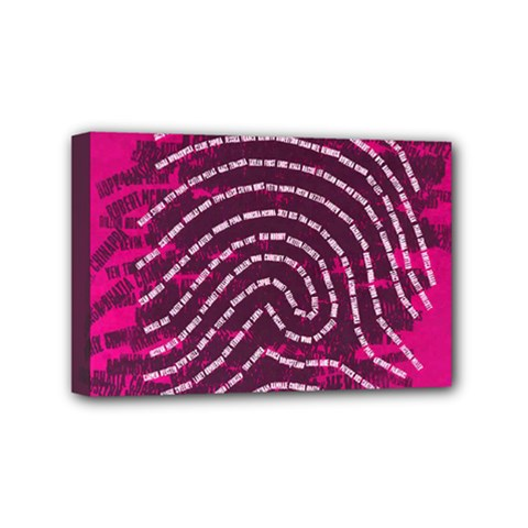 Above & Beyond Sticky Fingers Mini Canvas 6  x 4