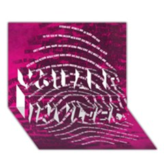 Above & Beyond Sticky Fingers YOU ARE INVITED 3D Greeting Card (7x5)