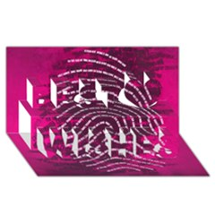 Above & Beyond Sticky Fingers Best Wish 3D Greeting Card (8x4)
