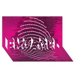 Above & Beyond Sticky Fingers ENGAGED 3D Greeting Card (8x4)