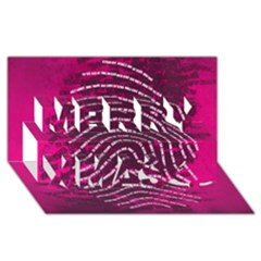 Above & Beyond Sticky Fingers Merry Xmas 3D Greeting Card (8x4)