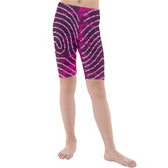 Above & Beyond Sticky Fingers Kids  Mid Length Swim Shorts