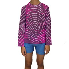 Above & Beyond Sticky Fingers Kids  Long Sleeve Swimwear