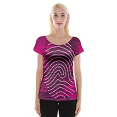 Above & Beyond Sticky Fingers Women s Cap Sleeve Top