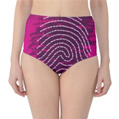 Above & Beyond Sticky Fingers High-Waist Bikini Bottoms