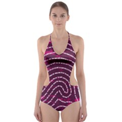 Above & Beyond Sticky Fingers Cut-Out One Piece Swimsuit