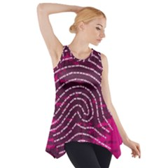 Above & Beyond Sticky Fingers Side Drop Tank Tunic