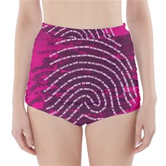 Above & Beyond Sticky Fingers High-Waisted Bikini Bottoms